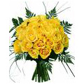 Flowers to Delhi: Yellow Roses Bouquet : Flowers to Delhi