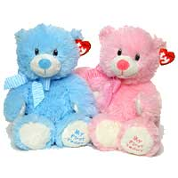 Send Anniversary Soft Toys to Delhi : Anniversary Gifts to Delhi : Anniversary Love Teddy Bears to Delhi
