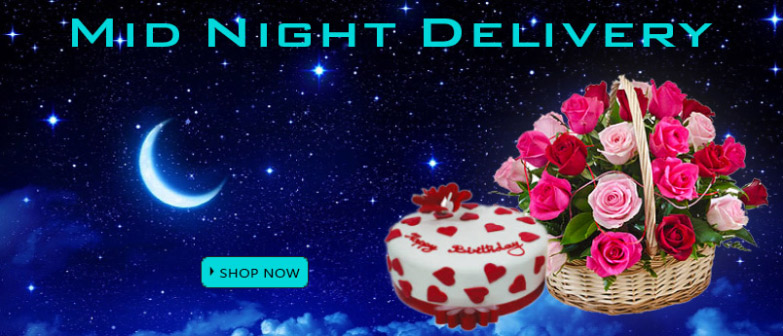 Send Midnight Cakes to Delhi