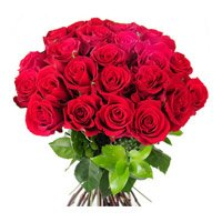 Send Flowers to Delhi : Red Roses 24 Flowers to Delhi