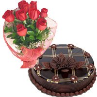 Red Roses and Chocolate Cakes to Delhi