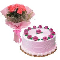 Flower Cake Delivery in Delhi