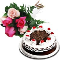 Mother's Day Flowers and Cakes to Shahdara