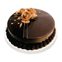 Send Cakes to Delhi Ajmeri Gate - Chocolate Truffle Cake