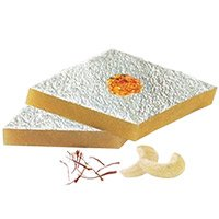 Send Diwali Gifts to Delhi Vasant Kunj that include 500gm Kaju Katli