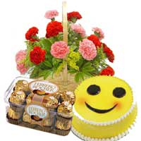 Same Day Flower Delivery in Jalandhar : Flower and Cake to Jalandhar
