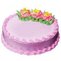 Send Eggless Cakes to Delhi Vasant Kunj