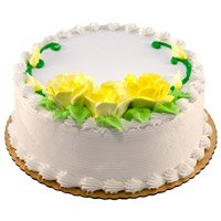 Cake Delivery to Delhi - Vanilla Cake From 5 Star