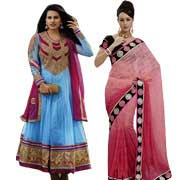 Send Karwa Chauth Gifts to Delhi : Saree to Delhi