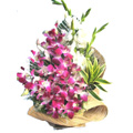 Flowers to Delhi : Send Flowers to Delhi : Orchids & Glads Arrangement