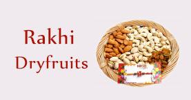 Send Rakhi Dry Fruits to Delhi