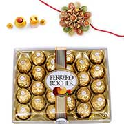 Send Rakhi Chocolates to Delhi : Rakhi Chocolates to Delhi : Online Rakhi Chocolates to Delhi