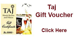Send Gift Voucher of Taj