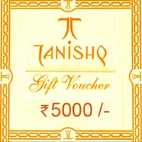 Send Tanishq gift Voucher to India
