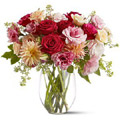 Send Flowers to Delhi : Vase Arrangement of Flowers to Delhi