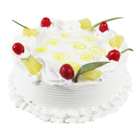 Cakes to Delhi - Pineapple Cake From 5 Star