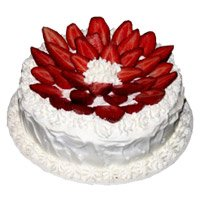 Cheap Online Cake Delivery in Delhi - Strawberry From 5 Star