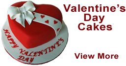 Send Valentine's Day Cakes to Sahibabad